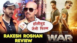 WAR Movie Review By Rakesh Roshan | Hrithik Roshan | Tiger Shroff