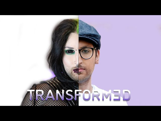 I Transformed From Goth to Everyday Guy - & I Hate It | TRANSFORMED