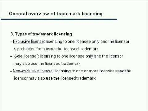 Trademark Licensing in China