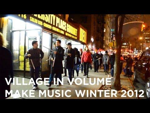 Village in Volume: Percussion Double Music | Make Music Winter 2012