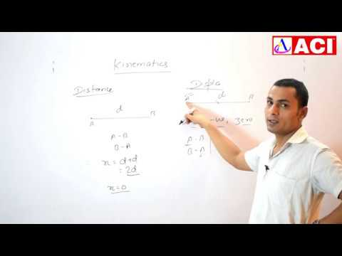Physics | Kinematics Part 2 | Ram Sir | ACI