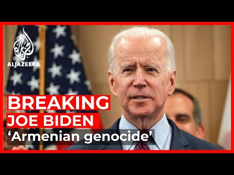 US President Joe Biden Officially Recognises 'Armenian Genocide'