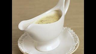Грибной соус из сушёных грибов.
