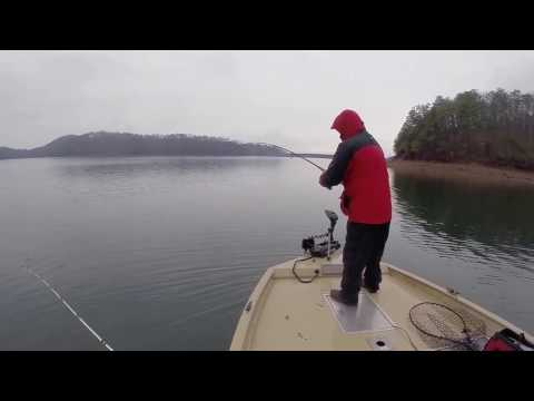 Fishing Carters Lake 2017