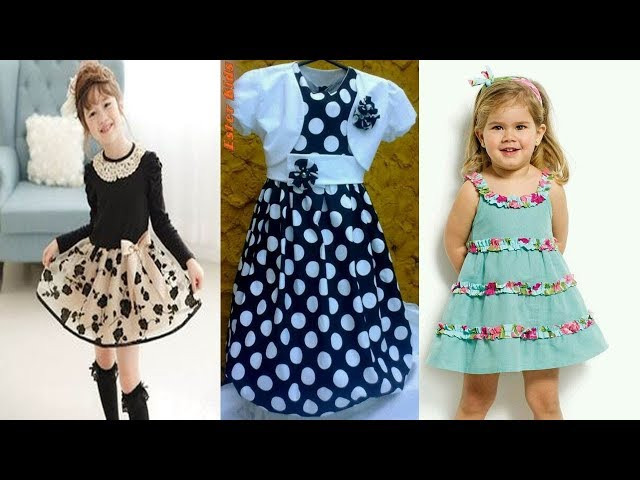 latest baby frock new collection 2018 design|| best design for baby short frocks ||baby frock design