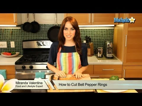 how to store cut bell pepper