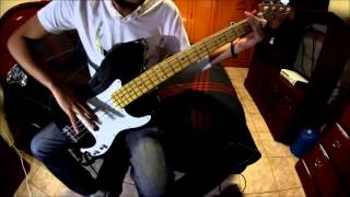 Veil of Maya - We Bow In It's Aura (Bass Cover)