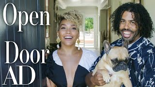 "Inside ""Hamilton"" Stars Daveed Diggs & Emmy Raver-Lampman's L.A. Home 