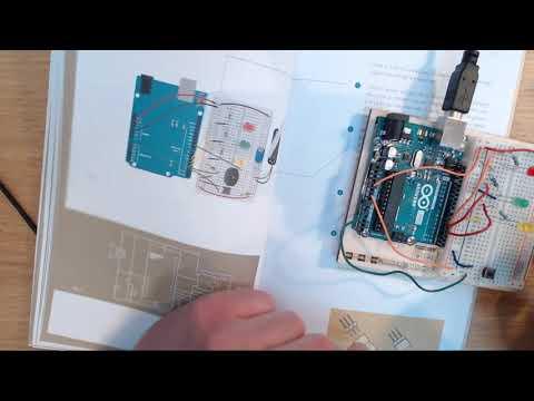 Sofox Tries The Arduino Starter Kit - Chapter 12 - Knock Lock