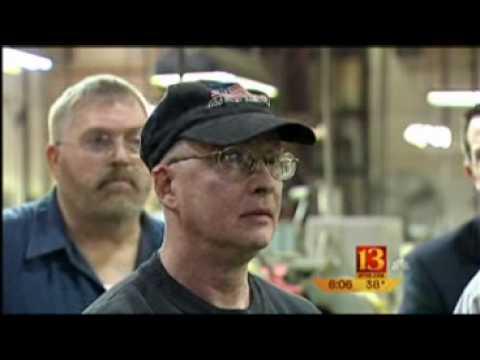 Brad Ellsworth Tours Indianapolis Factory