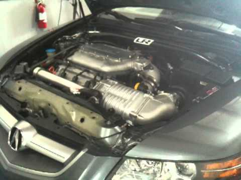 Acura TL CT Supercharged Dyno YouTube - Supercharged acura tl