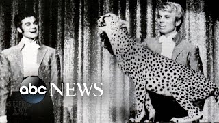 """How siegfried and roy get their start: part 1siegfried fischbacher met horn for the first time when he helped perform """"magic"""" on a cruise. afte..."""