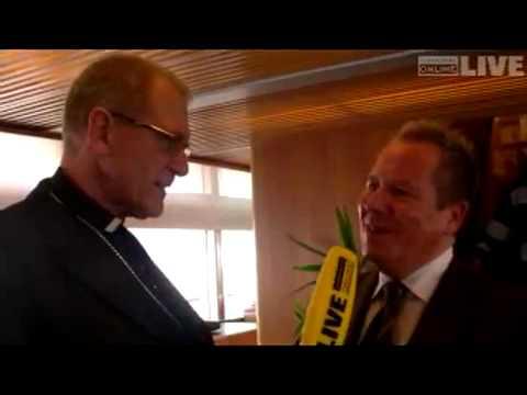 Eugen-Russ-Ausfahrt: Diozösanbischof Fischer