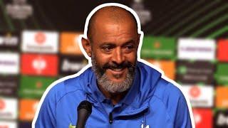 Nuno Espirito Santo - Rennes v Tottenham - Pre-Match Press Conference - Europa Conference League