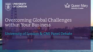 Panel Debate: Overcoming Global Challenges within Your Business