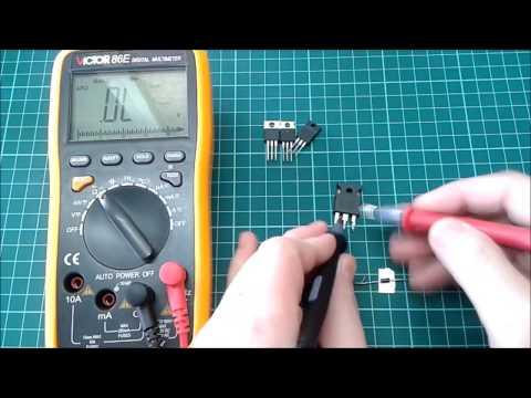 Сложно о простом: как проверить транзистор