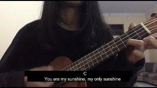 YOU ARE MY SUNSHINE - TUTORIAL CHORD (UKUELE)