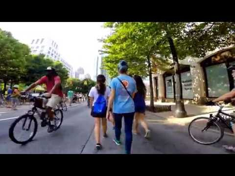 Atlanta Streets Alive 2016 Peachtree Street