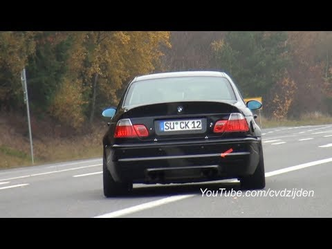 bmw m3 e46 csl invasion at the nordschleife part 2. Black Bedroom Furniture Sets. Home Design Ideas