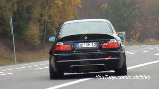 BMW M3 E46 + CSL Invasion at the Nordschleife! Part 2