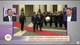 Orbán Viktor megbeszélést folytatott Salvinivel, Silvio Berlusconival és Giorgia Melonival