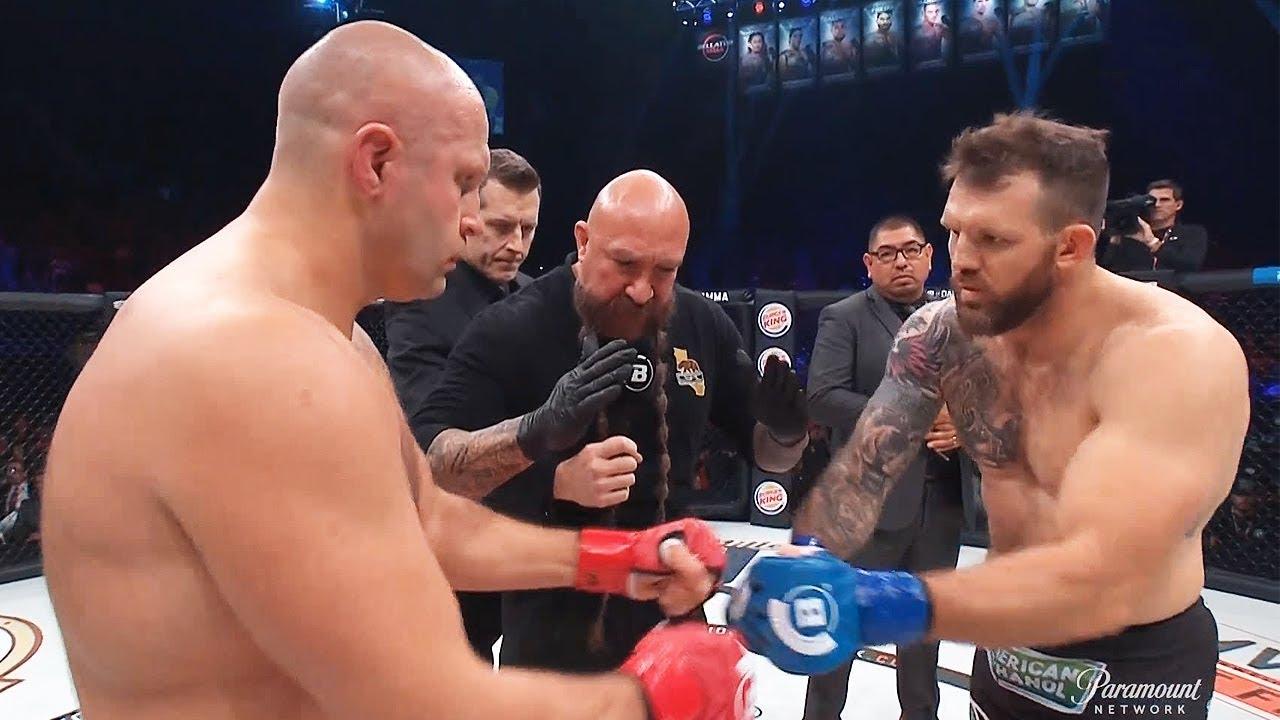 Бой Фёдор Емельяненко против Райана Бейдера / Нокаут за 30 секунд