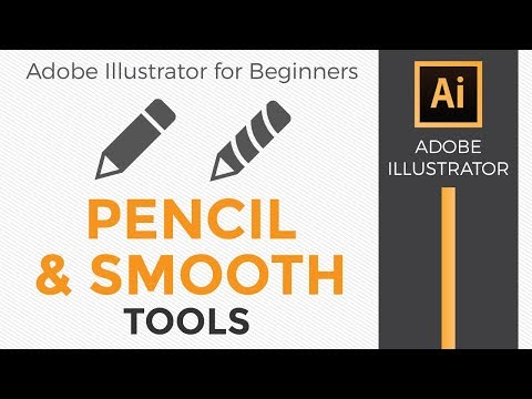 How to use the Pencil and Smooth Tools in Illustrator 2018