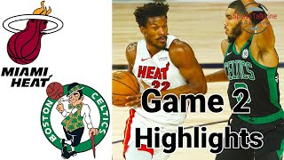 Heat vs Celtics HIGHLIGHTS Full Game | NBA Playoff Game 2