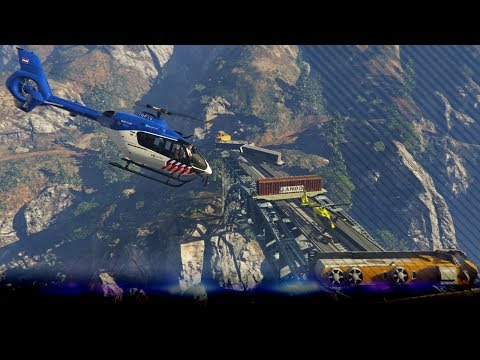 Zulu Politie helikopter ondersteunt bij trein ongeval! - Ep 5 - Noway Roleplay (GTA 5 MP + Mods)
