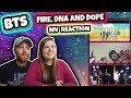 BTS (방탄소년단) FIRE, DNA AND DOPE(쩔어) MV Music Video REACTION