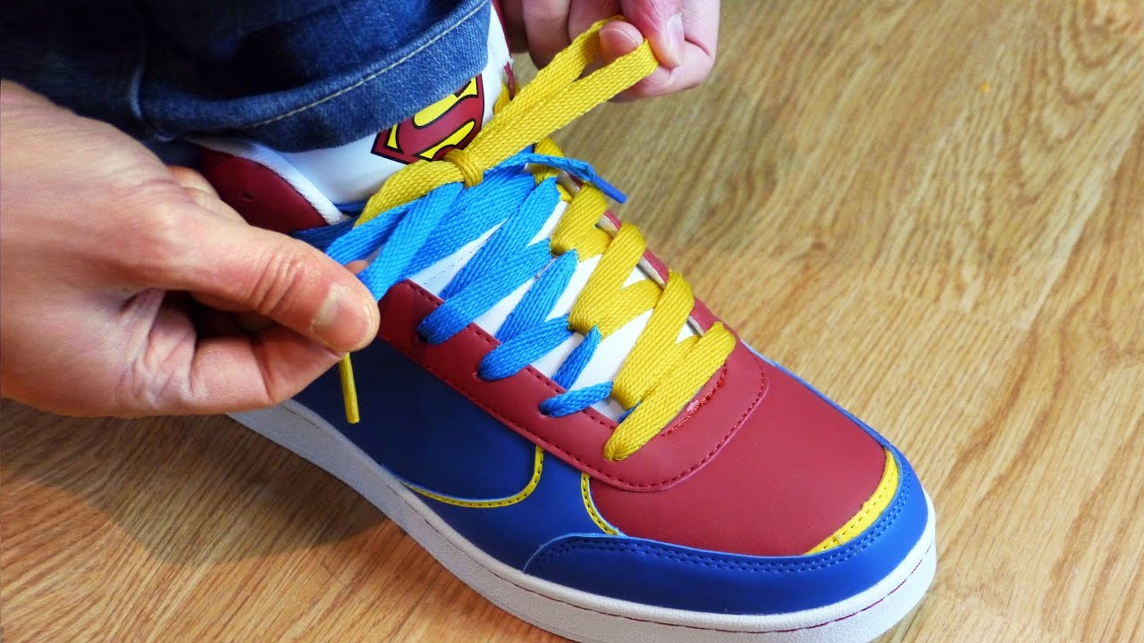 How Would Superman Tie His Shoe Laces?