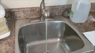 Installing The Tiny House Kitchen Sink