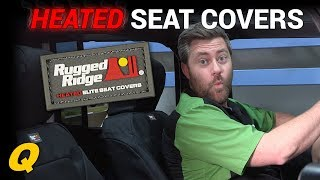 Rugged Ridge Heated Elite Seat Covers for 2007-2018 Jeep Wrangler JK