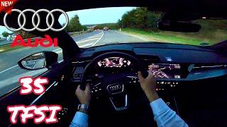 2020 Audi A3 35 TFSI 150 HP   POV Test Drive Onboard