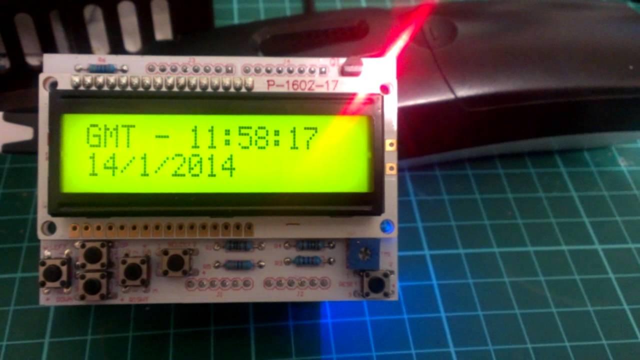 Arduino Based Gps Clock Youtube
