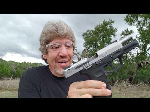 9mm .40 semi auto pistol reload: My method