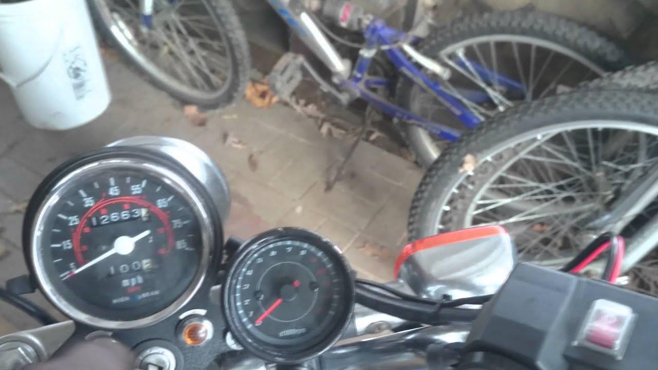 Virago 250 Wiring Diagram Bt 50 How To Install A Tachometer Handlebar 12v Usb Socket Charger On Honda Rebel