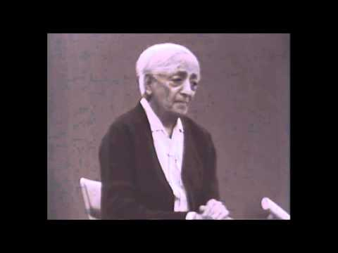 Jiddu Krishnamurti - The common consciousness