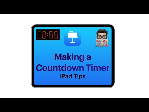 Keynote Tips How To Make Your Own Countdown Timer To Add To Presentations Ipad Tutorial 2020 Youtube