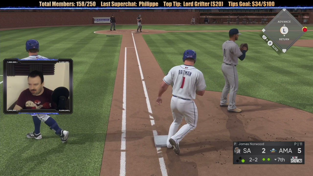 MLB the Show 21 Road to the Show playthrough pt19 - Can It Be? I'm Being PROMOTED!?