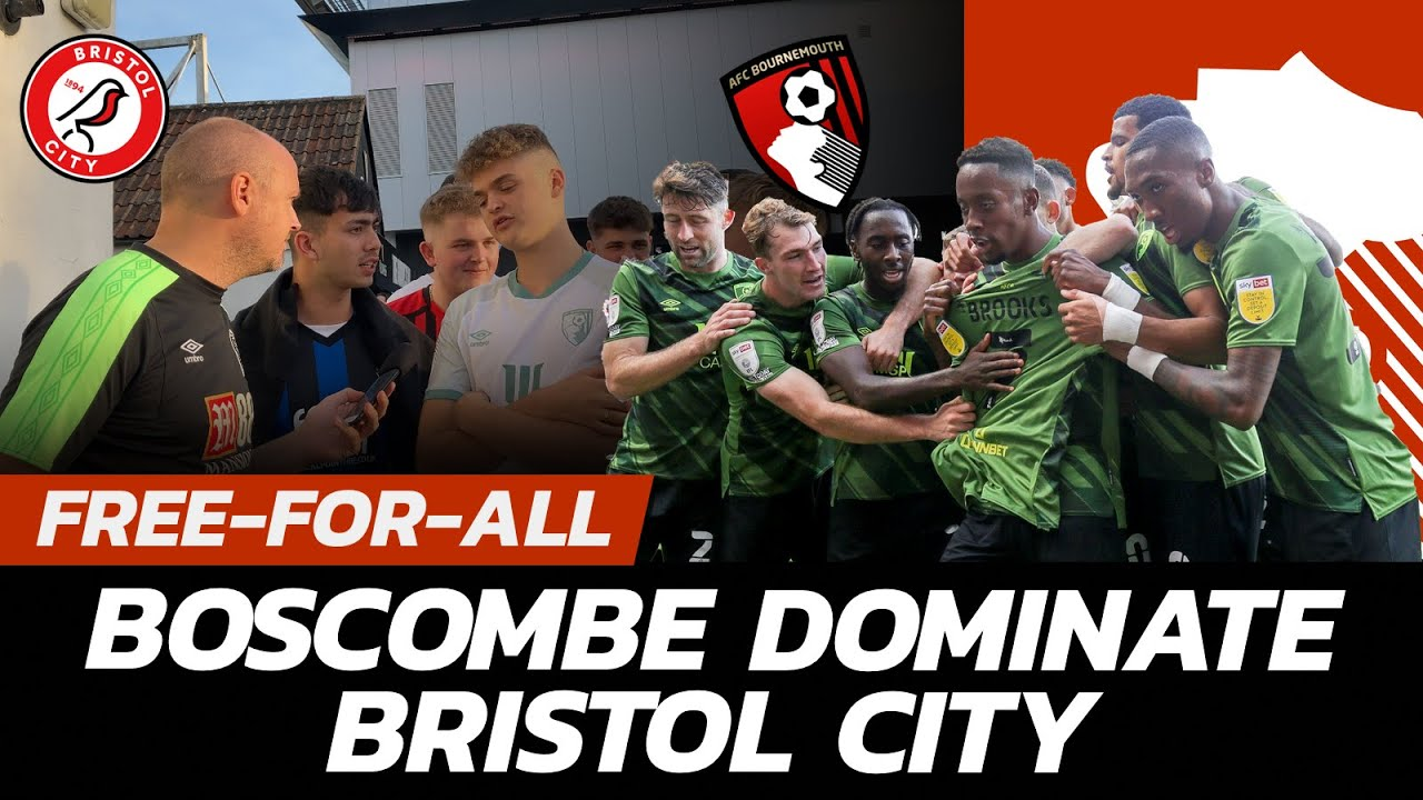 Download GAVIN INIESTA! CHERRIES BACK ON TOP: Fans React as AFC Bournemouth Cruise to 2-0 Bristol City Win!