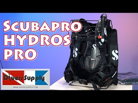 ScubaPro Hydros Pro BCD *** Unique Back Inflate But At A Price...