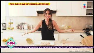 ¡Anahí se burla de sí misma por su video de las enfrijoladas! | De Primera Mano YouTube Videos