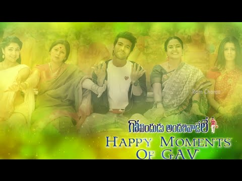 Download Youtube: GAV Govindudu Andarivadele Making Video - GAV Happy Moments - Ram Charan, Kajal Aggarwal