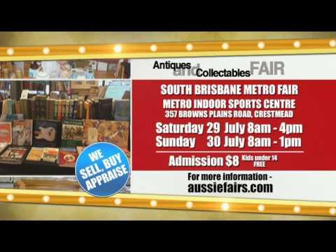 South Brisbane Metro Antique Fair