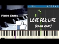 Download Love for Life(Raja Rani Theme) -Synthesia MP3 song and Music Video