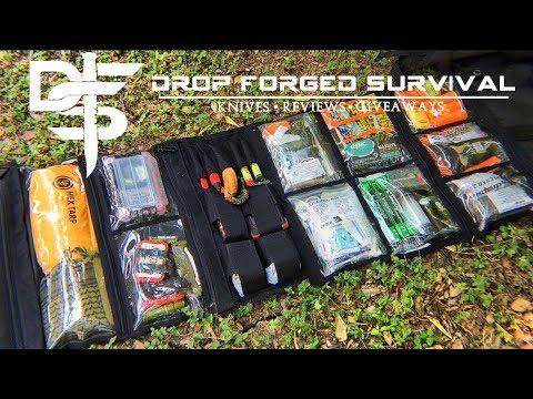 Ultimate 650 Piece Survival Kit Organizer 72 Hr Kit
