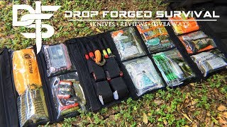 Ultimate 650 Piece Survival Kit Organizer | 72 Hr Kit | The Bug Out Roll