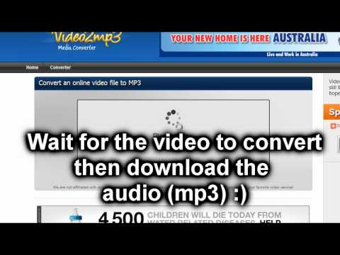 How To Download Mp3 Music/Audio From YouTube