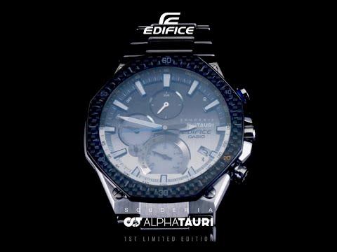 CASIO EDIFICE Scuderia AlphaTauri Limited Edition EQB-1100AT